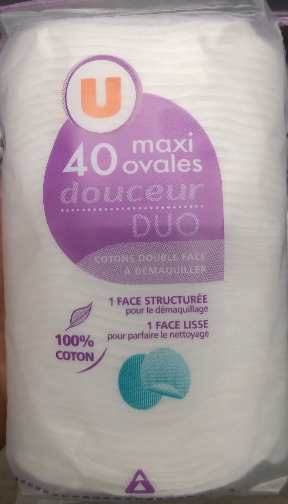 Coton double face à démaquiller - Produit - fr