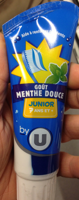 Dentifrice junior Goût menthe douce - Product - fr