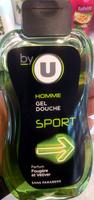 Homme gel douche sport - Product - fr