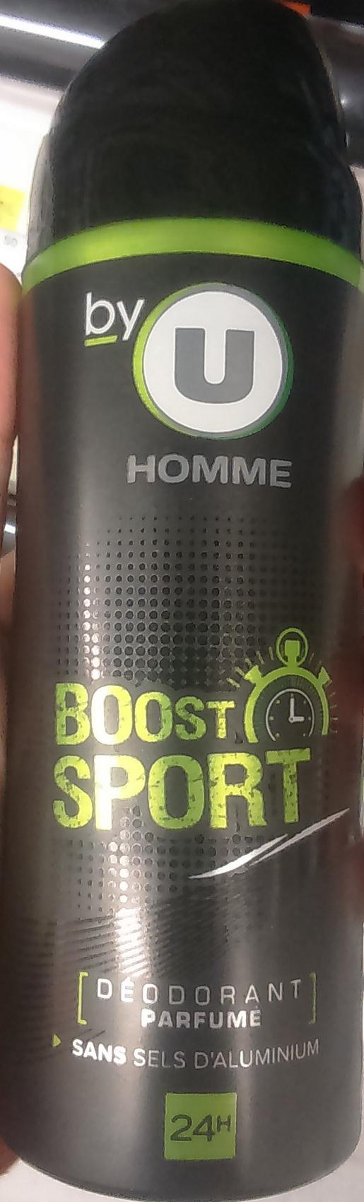 Déodorant parfumé Boost Sport - Product