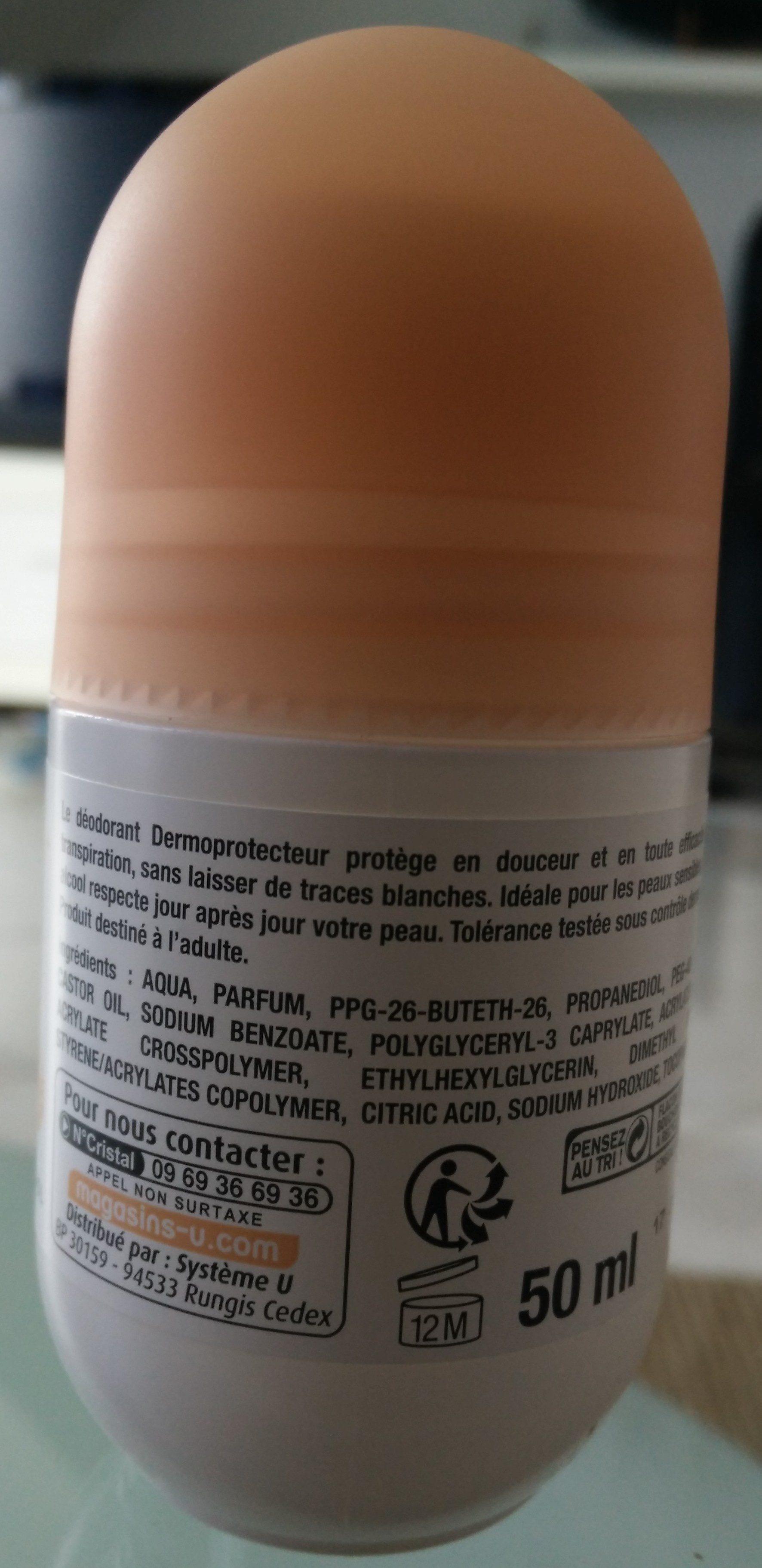 Déodorant soin Dermo Protecteur - Ingredients - fr