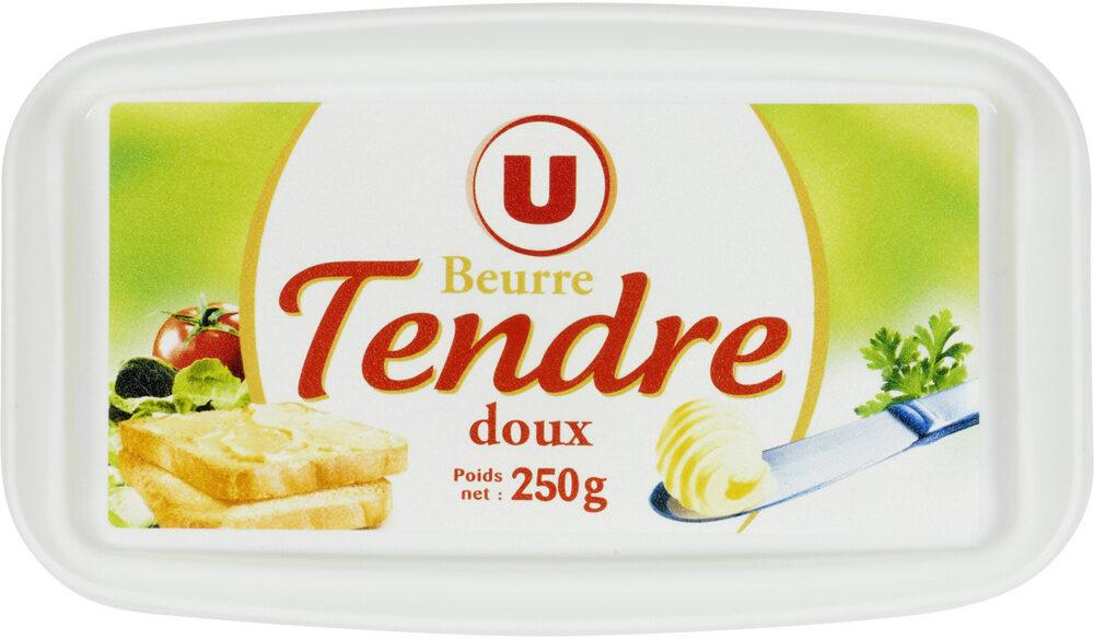 Beurre tendre à tartiner doux 82% de matière grasse - Product - fr