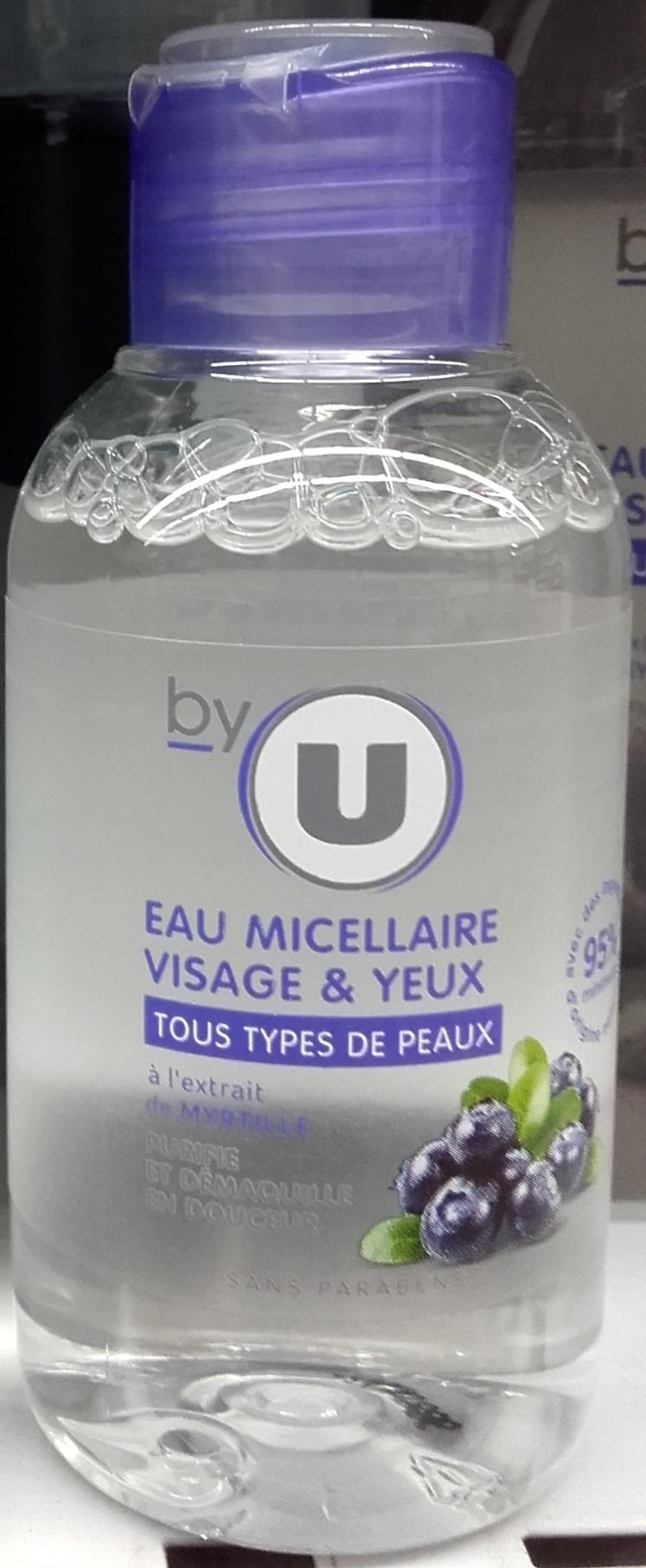 Eau micellaire visage & yeux à l'extrait de myrtille - Product - fr