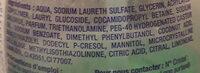 Hygiène & Anti Odeur - Ingredients - fr