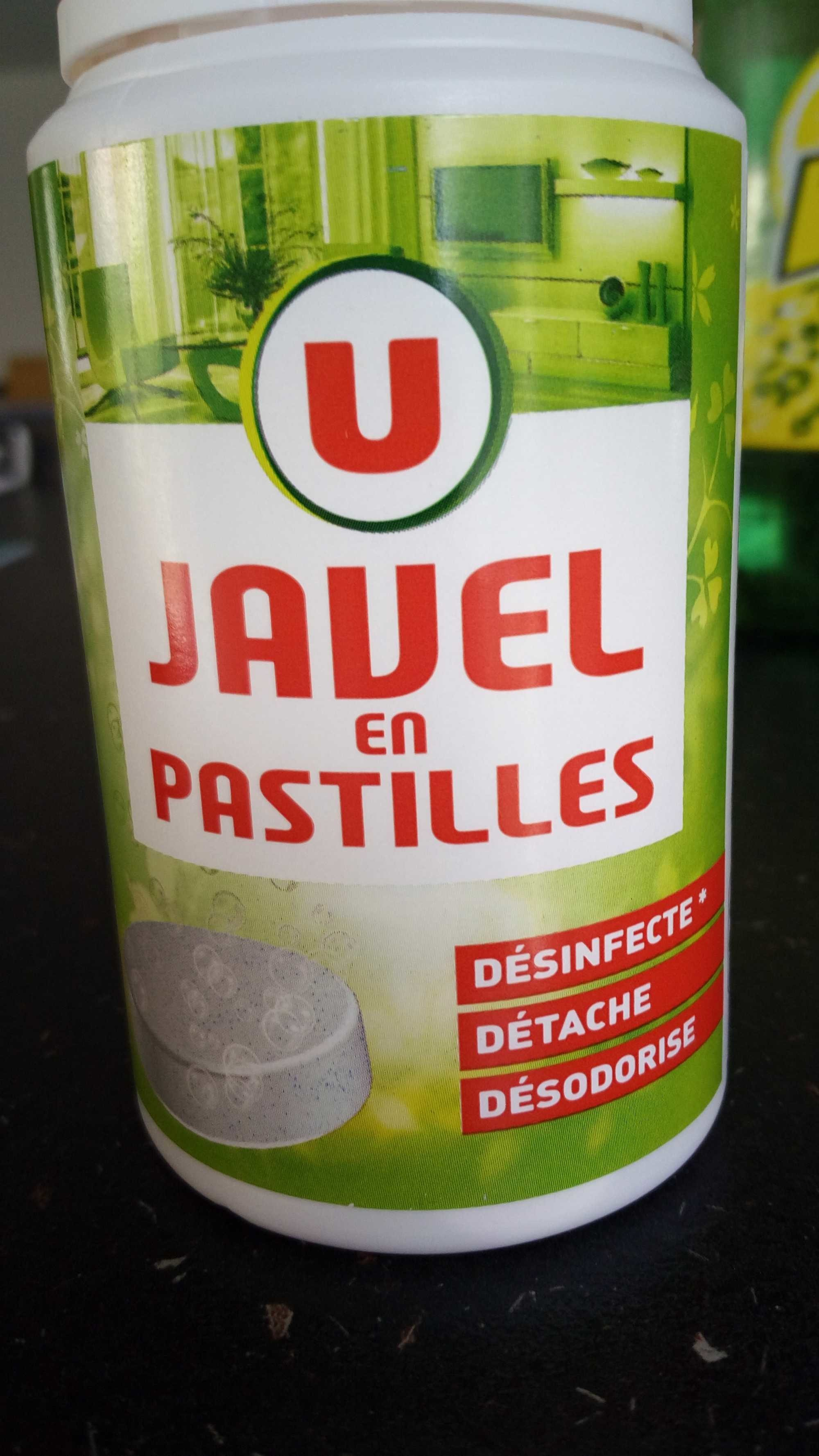 Javel en pastille - Product