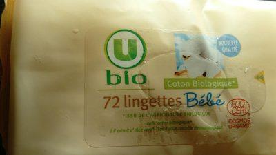 72 lingettes bébé - Produit