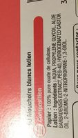 90 mouchoir blancs lotion - Ingredients - fr
