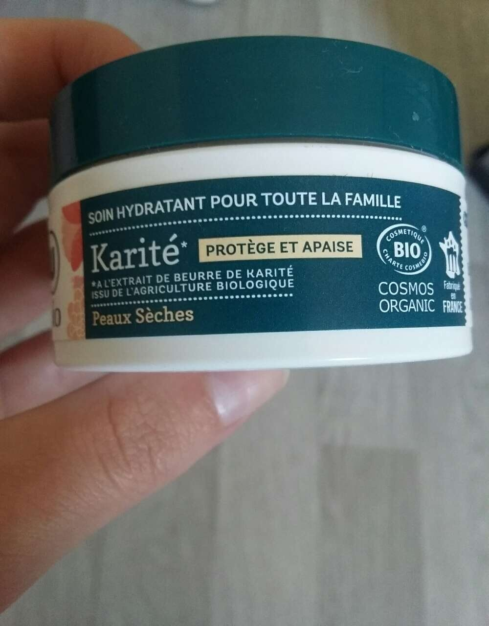 Soin hydratant karité - Ingredients