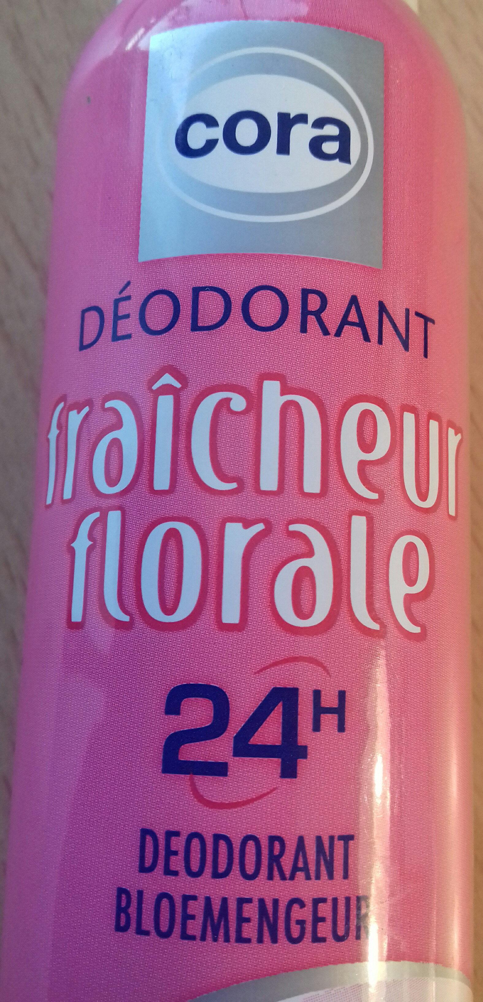 Déodorant fraîcheur florale - Produit