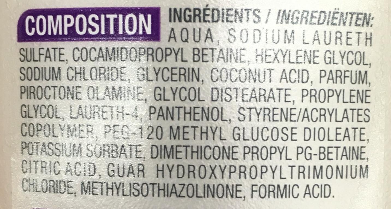 Les Soins Shampooing antipelliculaire - Ingrédients - fr