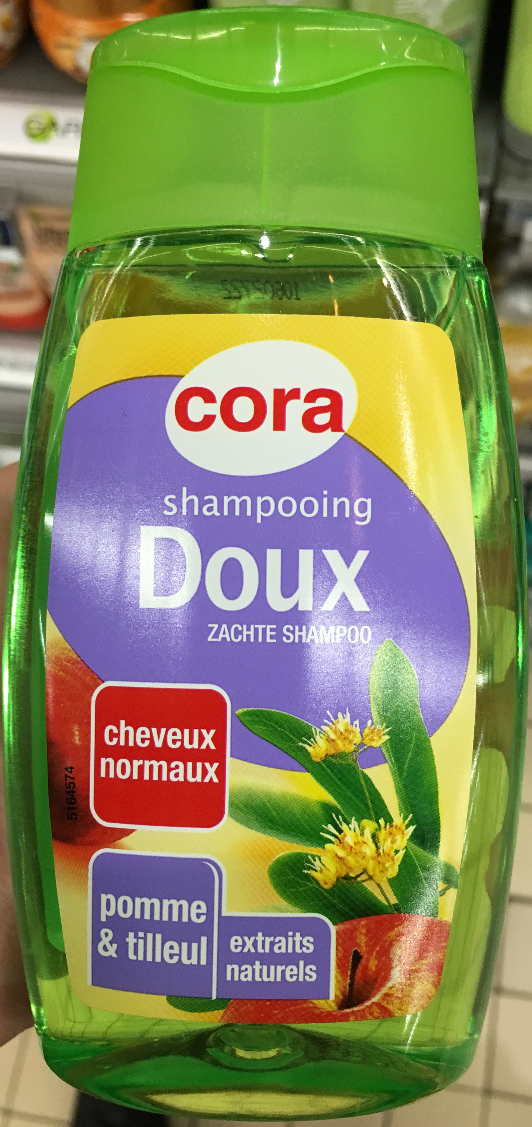 Shampooing Doux cheveux normaux Pomme & tilleul - Product