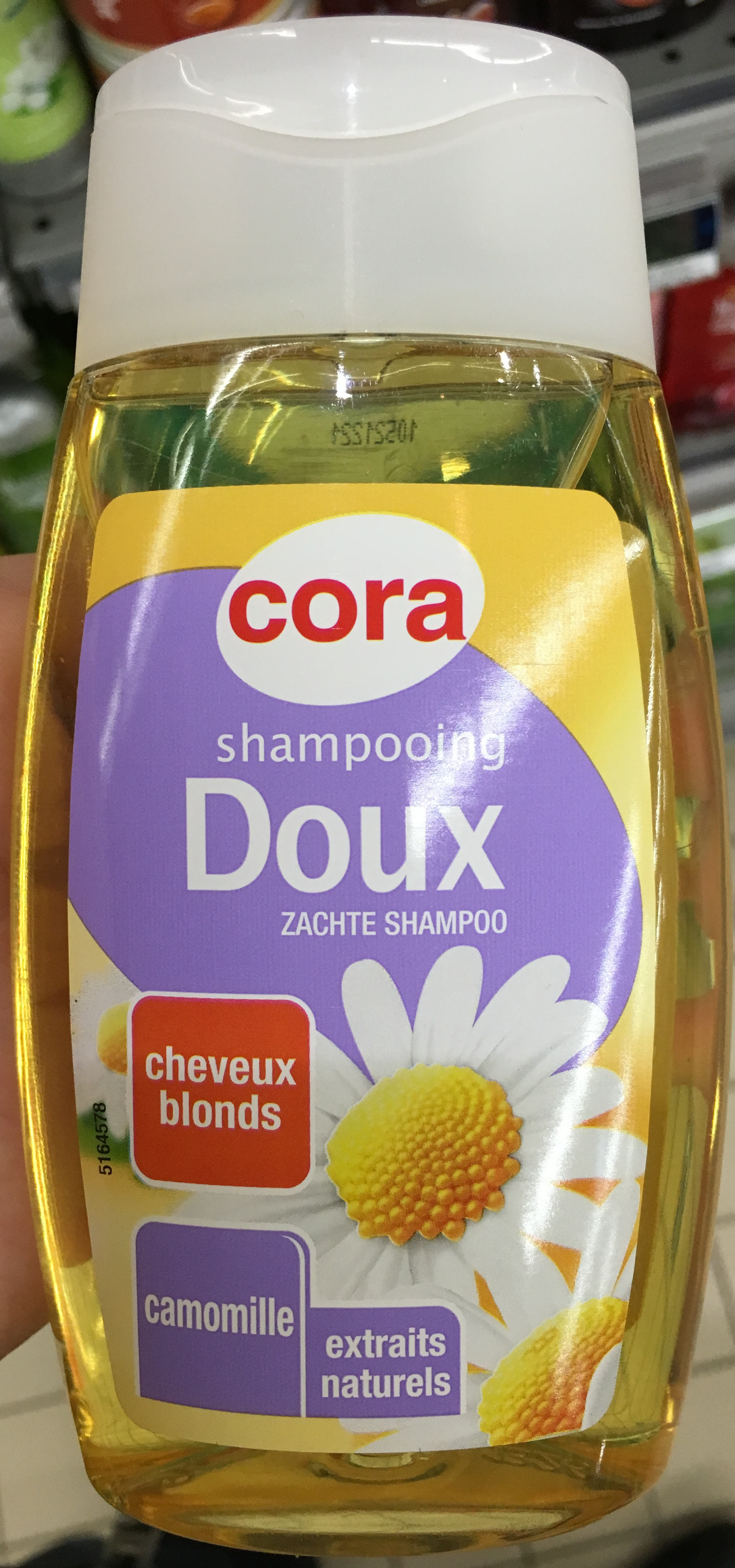 Shampooing Doux cheveux blonds Camomille - Product - fr