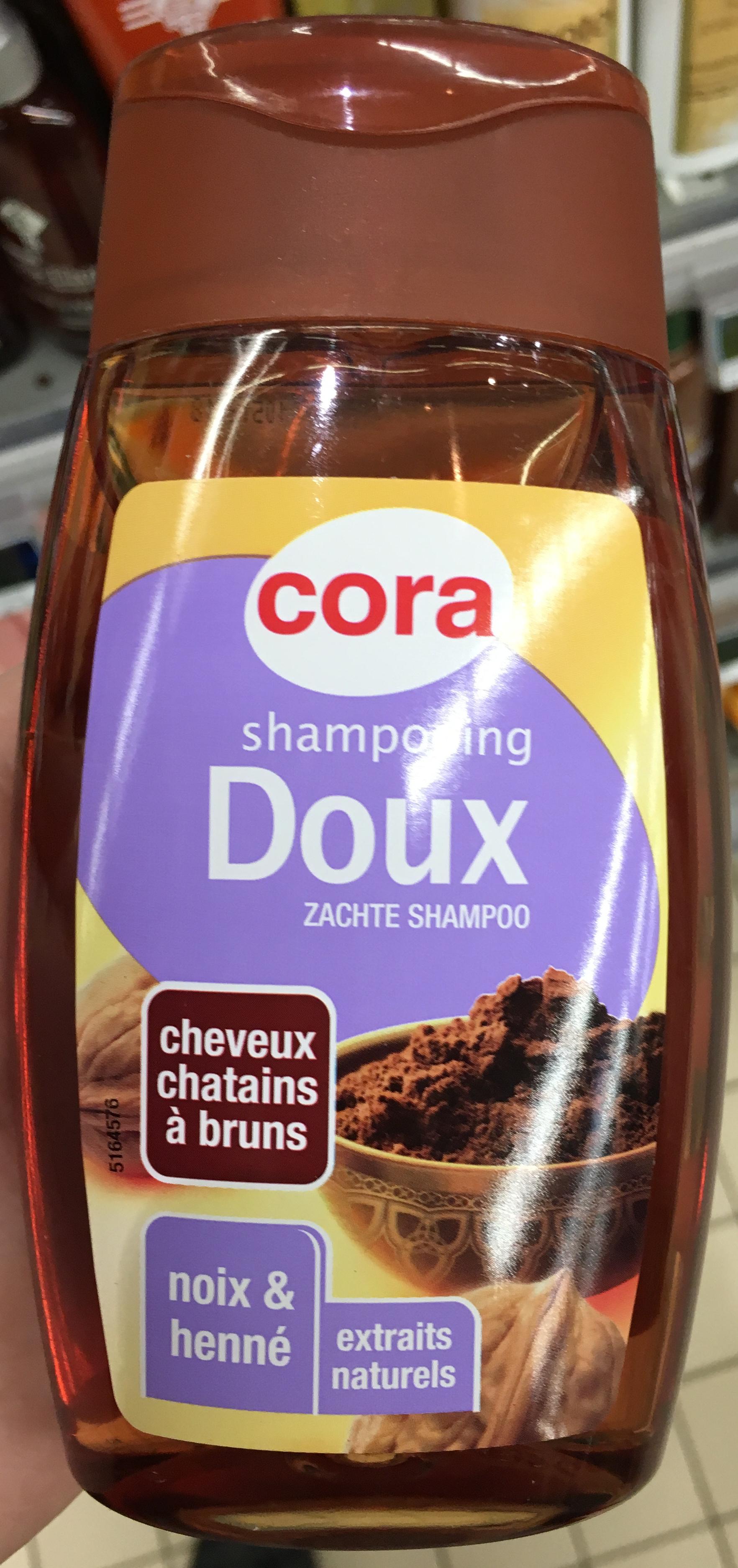 Shampooing doux Cheveux chatains à bruns Noix & Henné - Product