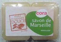 Savon de Marseille Huile d'Amande Douce - Produit