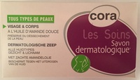 Savon dermatologique visage & corps à l'huile d'amande douce - Product - fr