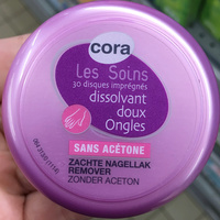 Disques imprégnés dissolvant doux Ongles sans acétone - Produit - fr