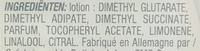Disques imprégnés dissolvant doux Ongles sans acétone - Ingrédients - fr