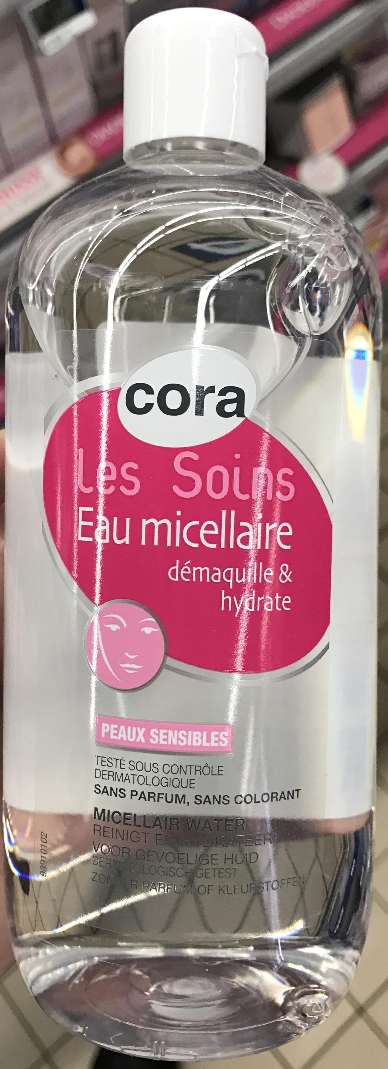 Les Soins Eau micellaire Peaux Sensibles - Produit