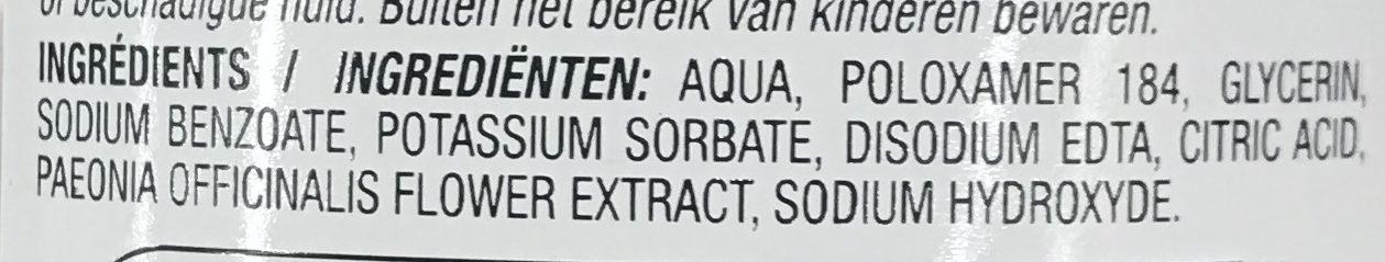 Les Soins Eau micellaire Peaux Sensibles - Ingredients - fr