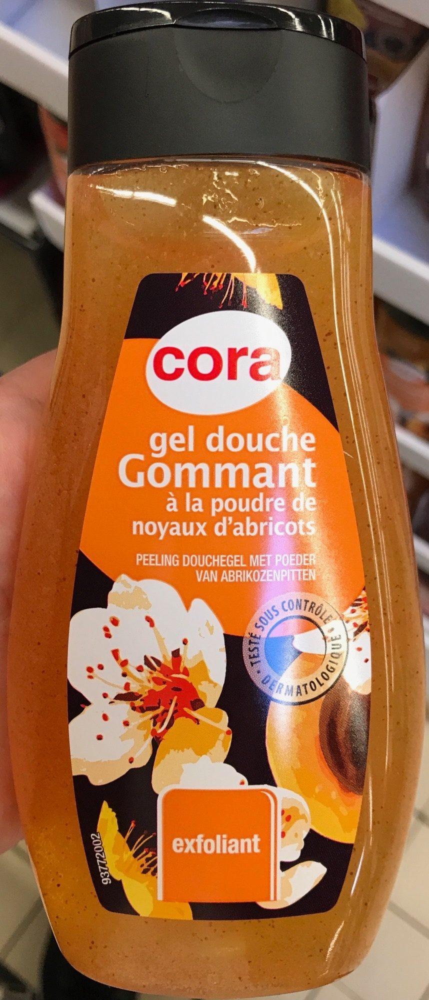 Gel douche gommant à la poudre de noyaux d'abricots - Product - fr