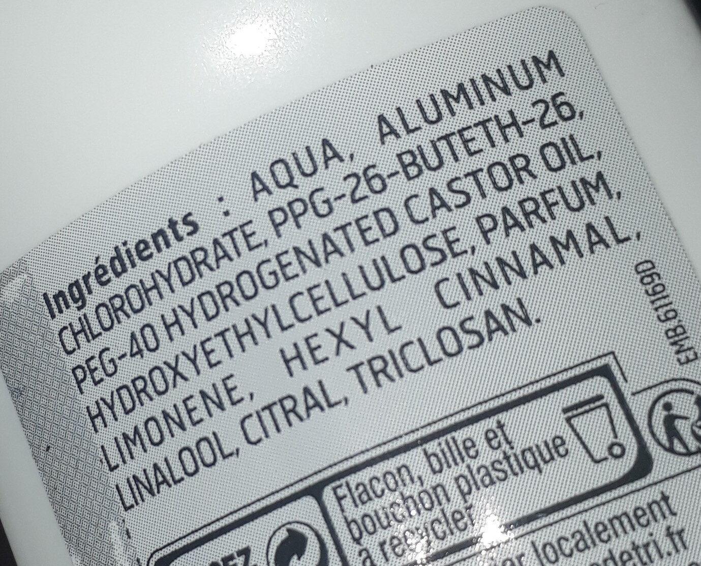 deobille - Ingredients - fr