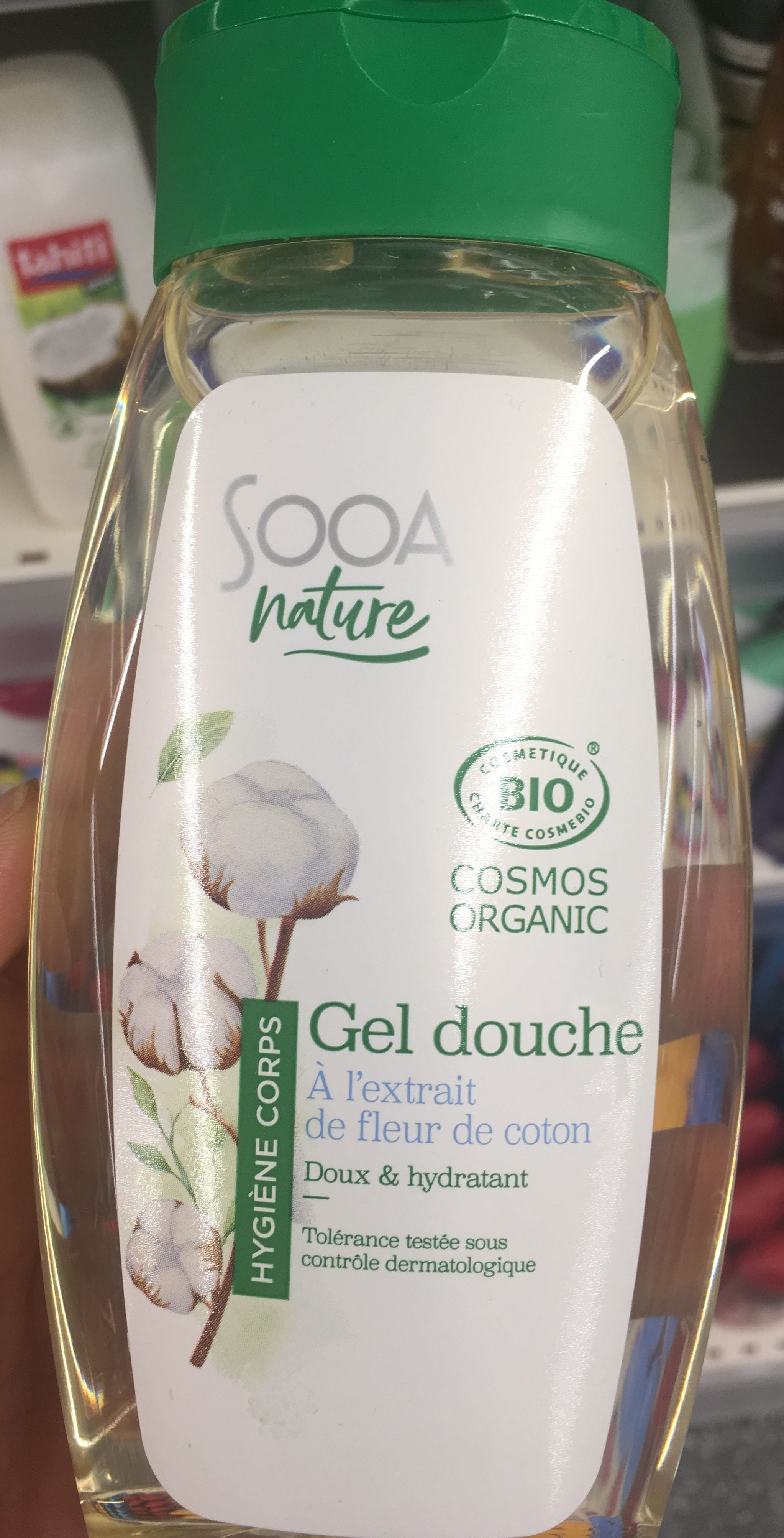 Gel douche à l'extrait de fleur de coton - Produit