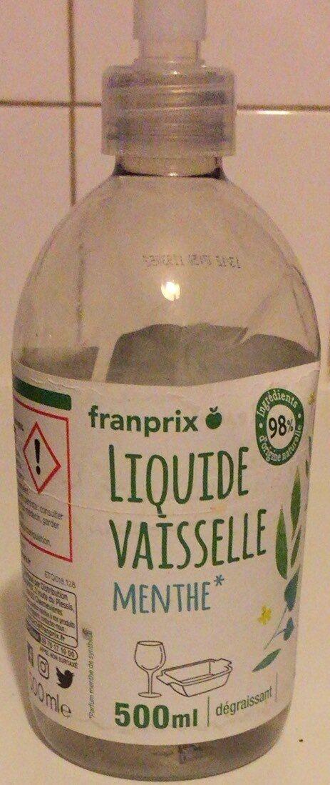 Liquide vaisselle menthe - Product - fr