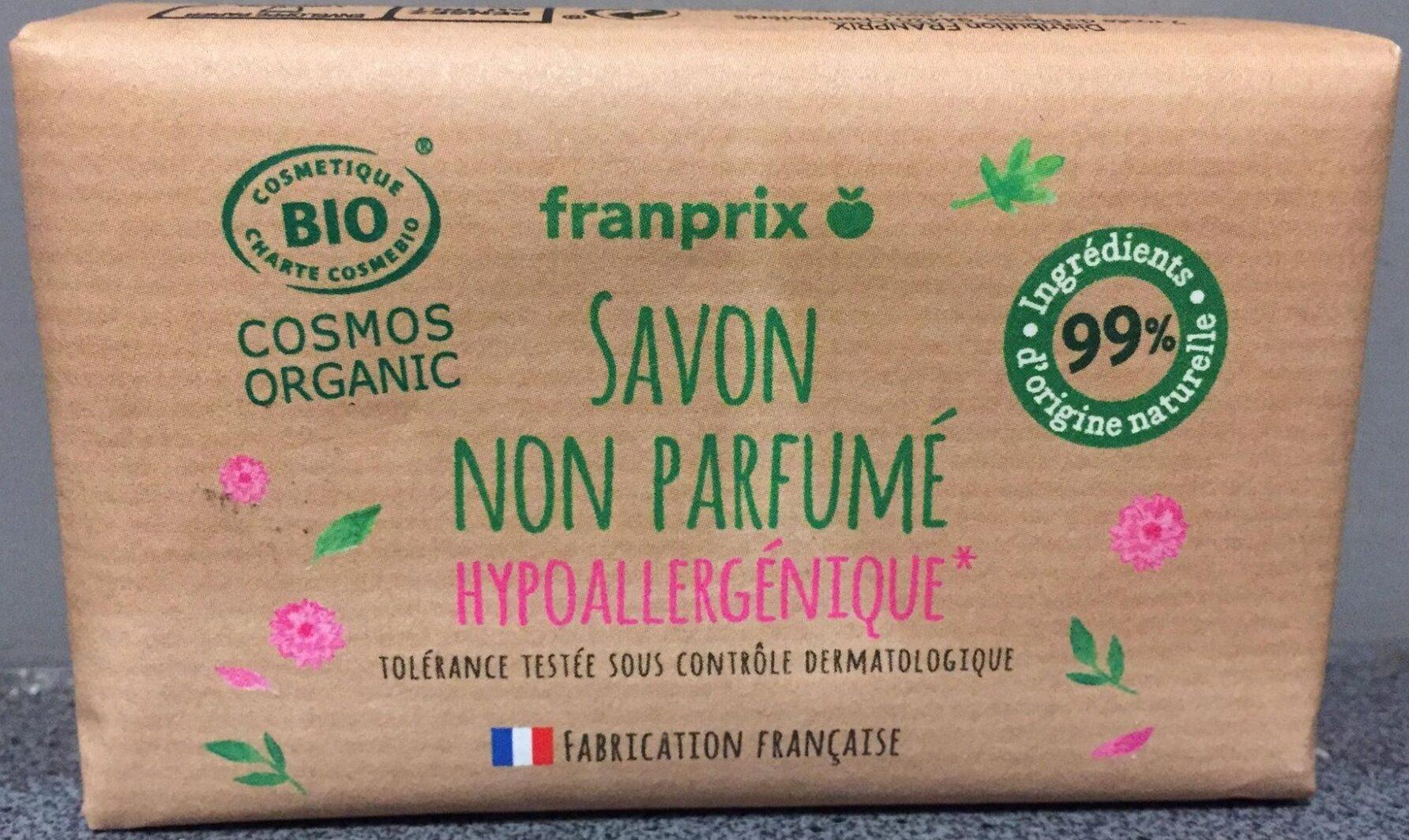 Savon non parfumé hypoallergénique - Product - fr