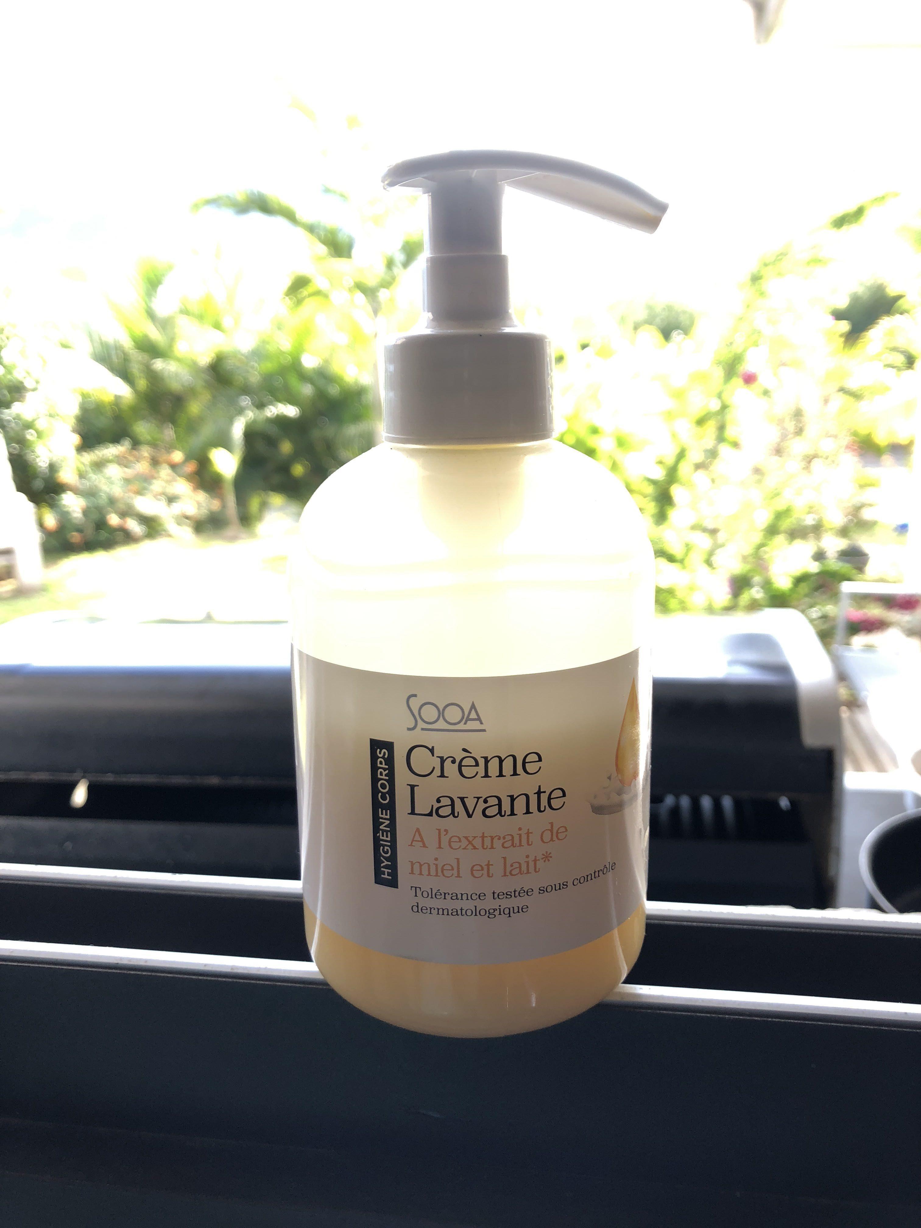 Crème lavante à l'extrait de miel et de lait - Product
