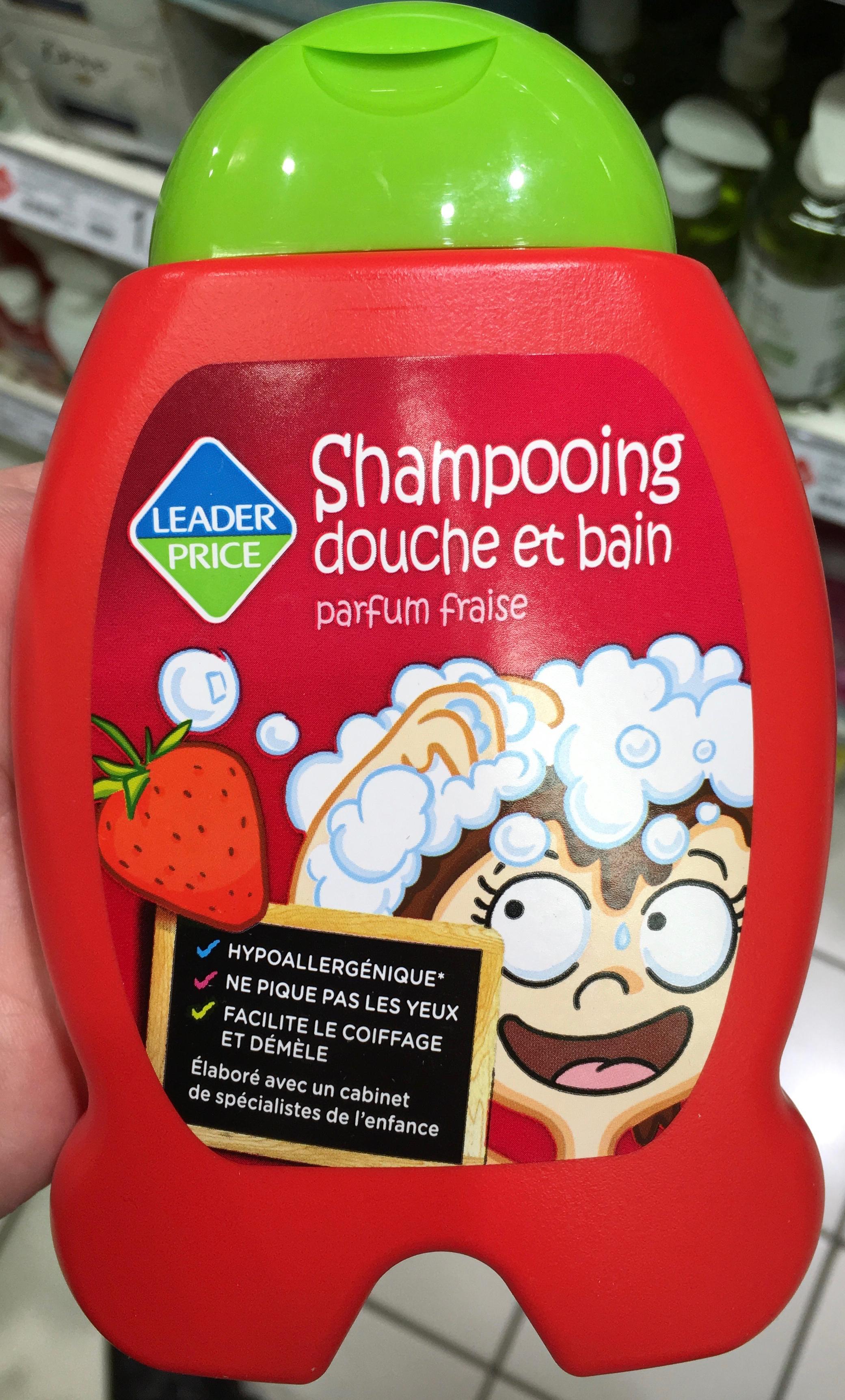 Shampooing douche et bain parfum fraise - Product