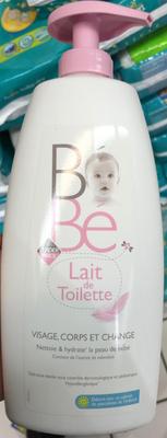 Bébé Lait de Toilette Visage, Corps et Change - Produit