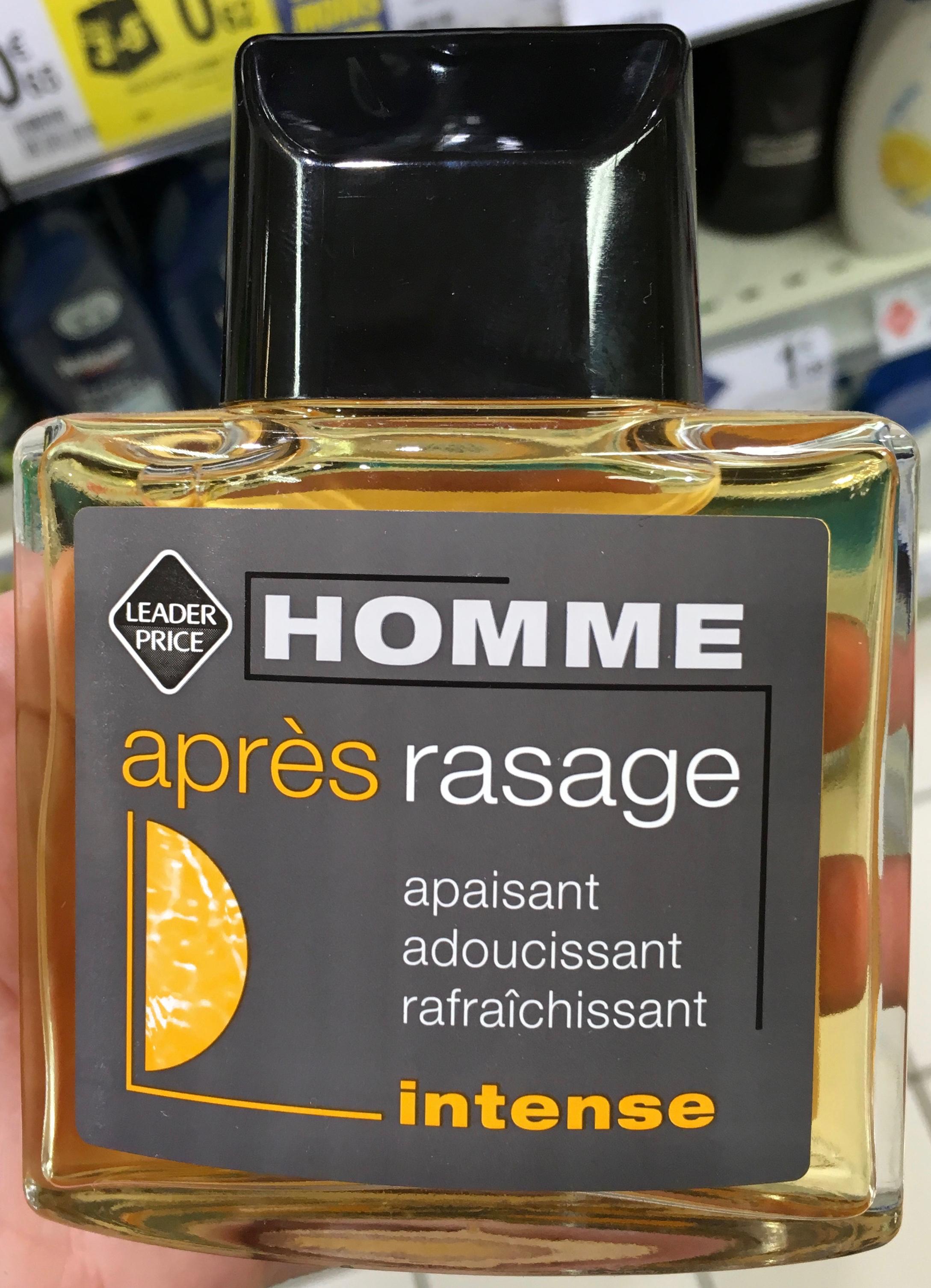 Homme Après Rasage Intense - Produit - fr