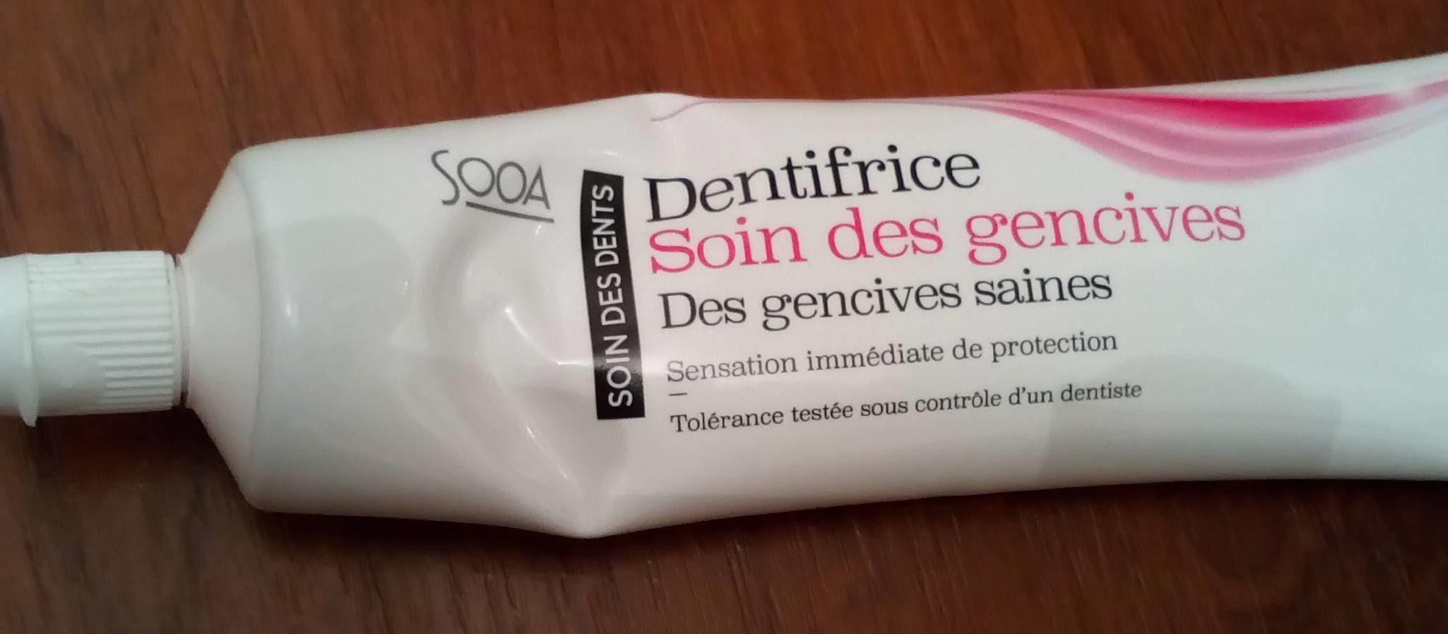 Dentifrice soin des gencives - Produit - fr