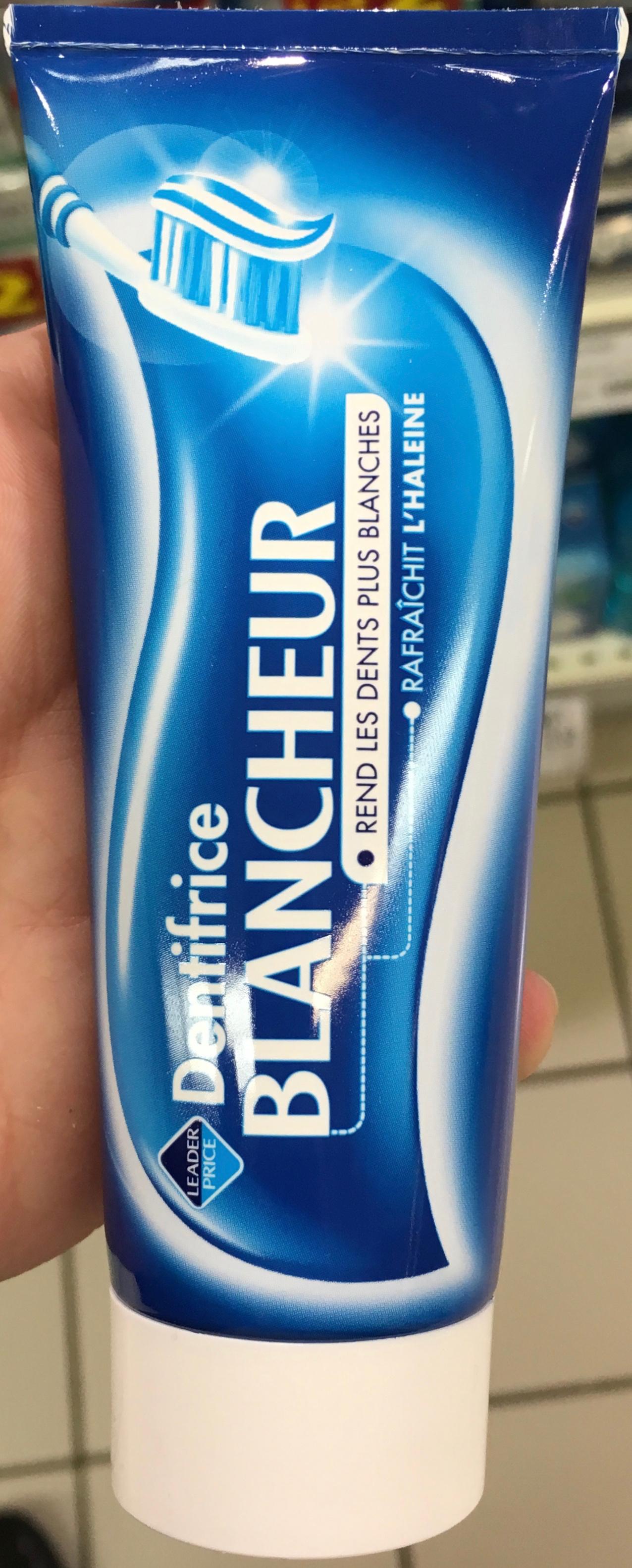 Dentifrice blancheur - Produit