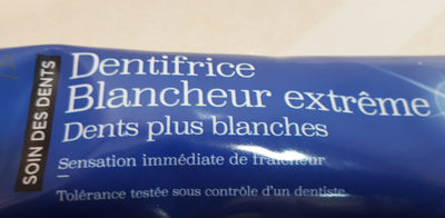 Dentifrice Blancheur extrême - Product