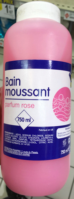 Bain moussant parfum rose - Product