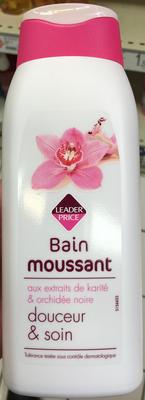 Bain moussant douceur & soin - Produit