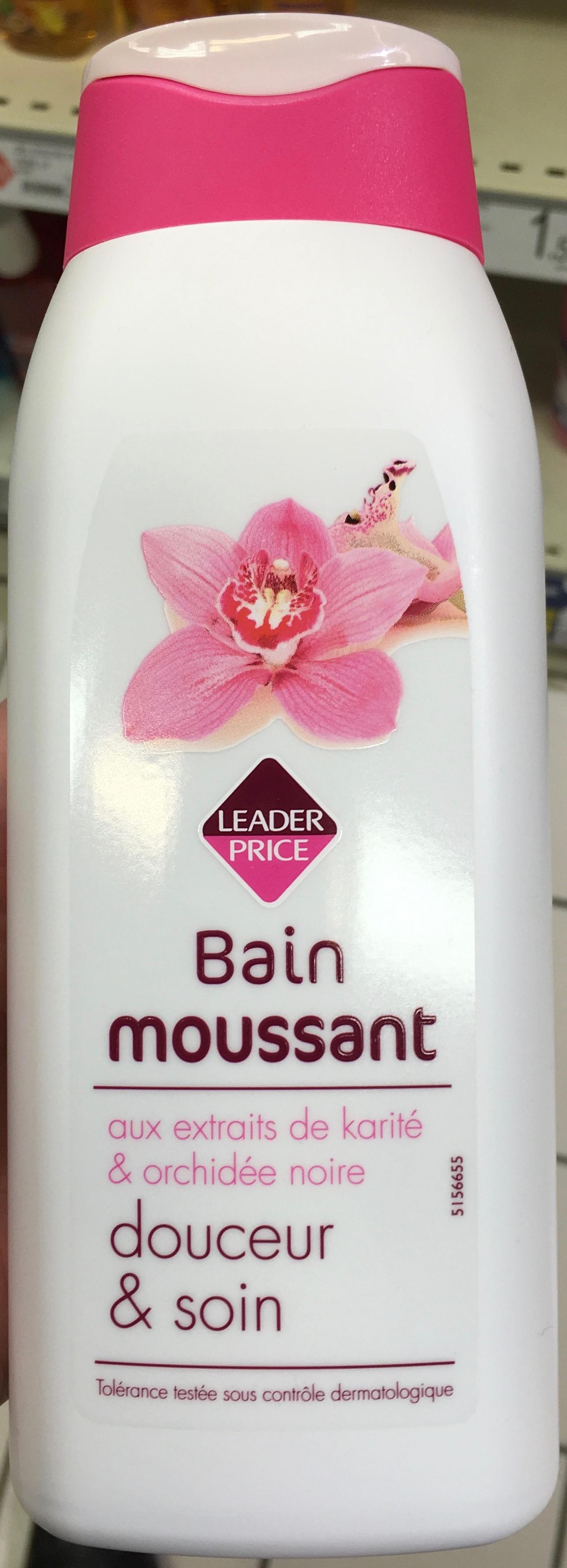 Bain moussant douceur & soin - Product - fr