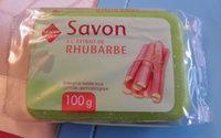Savon à l'extrait de rhubarbe Leader Price - Product