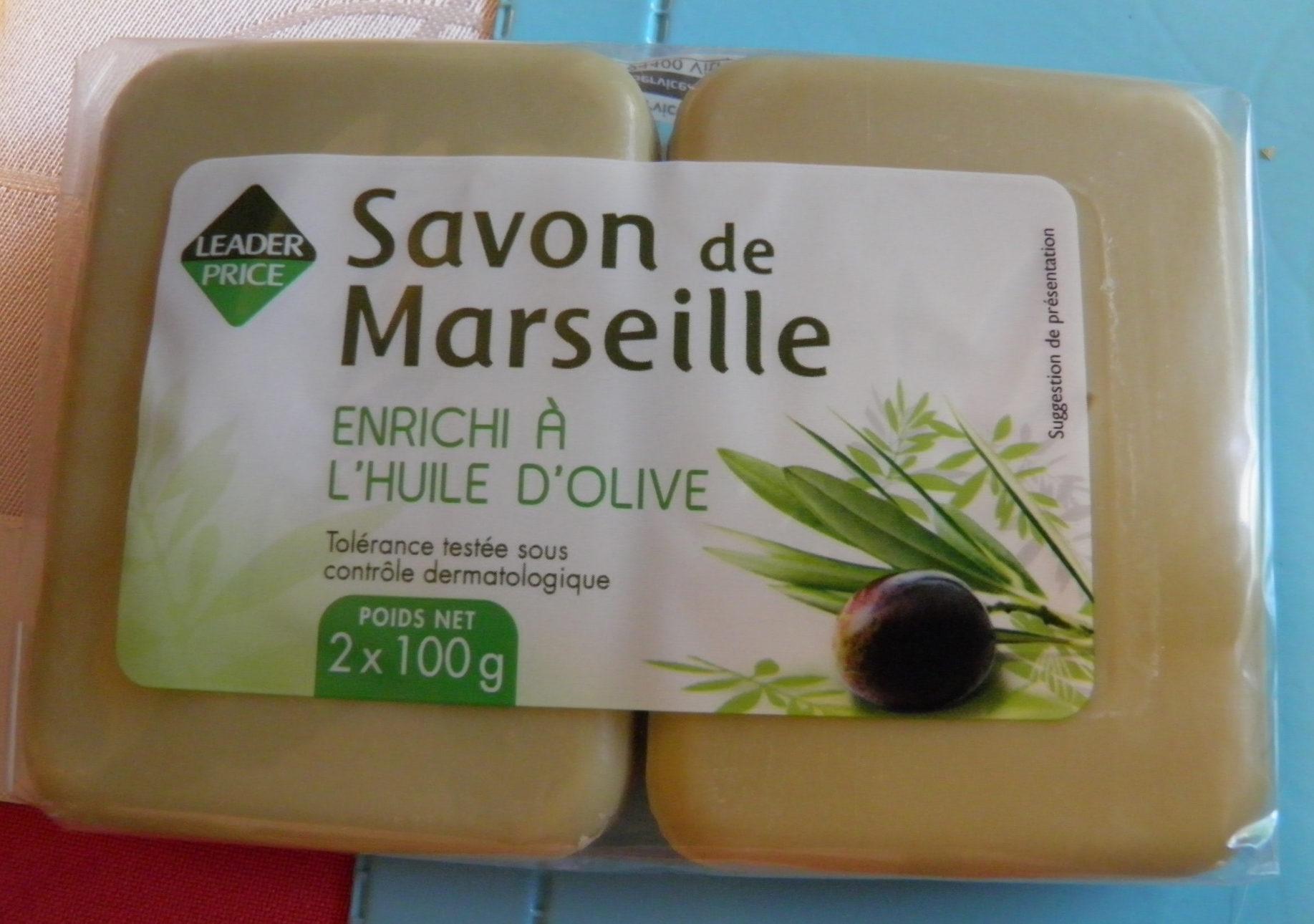 Savon de Marseille enrichi à l'huile d'olive - Product - fr