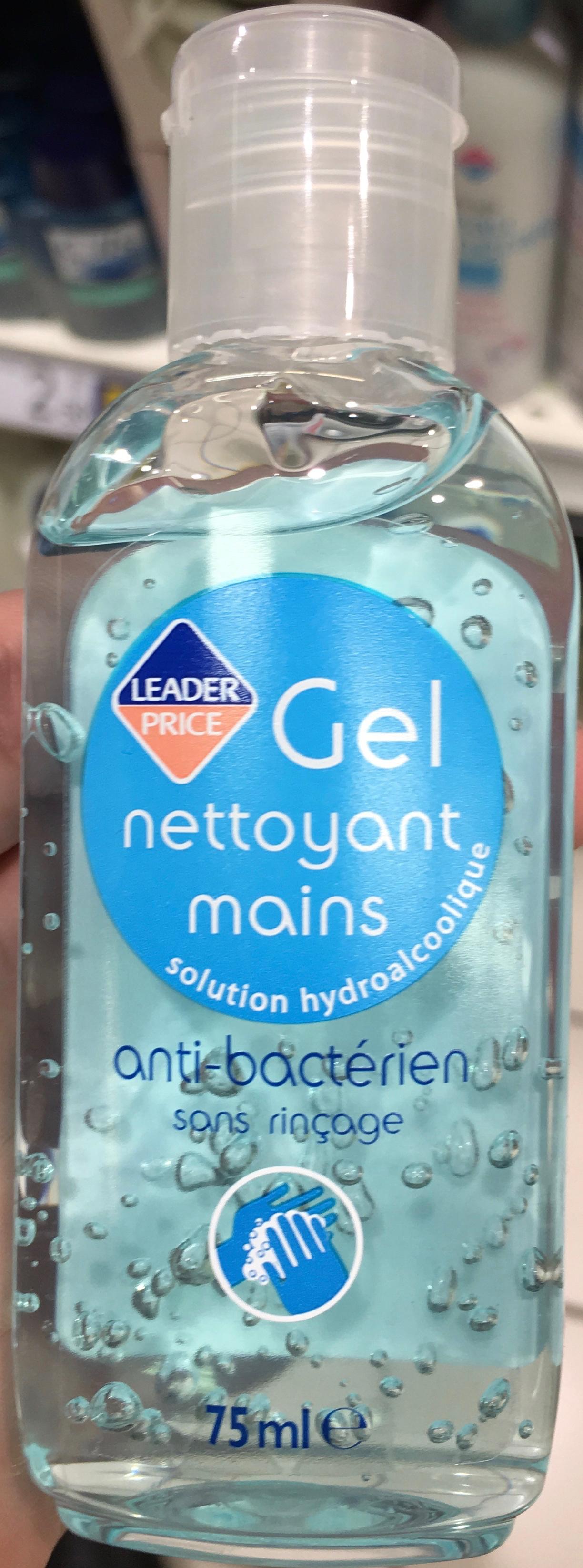 Gel nettoyant mains anti bactérien sans rinçage - Produit - fr