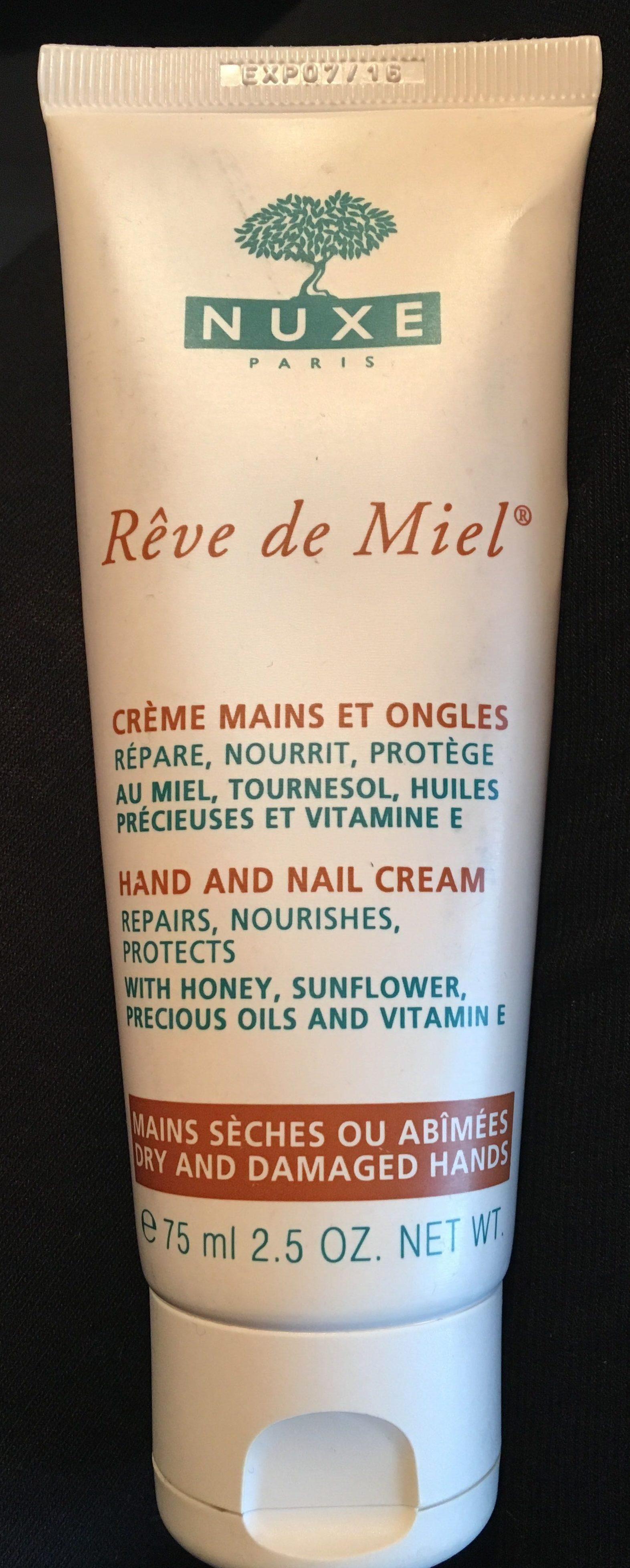 Rêve de Miel - Crème Mains et Ongles - Produit - fr