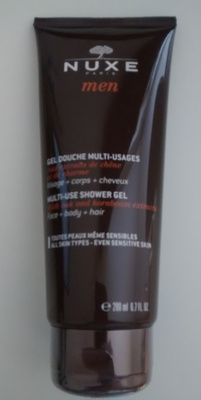 Gel douche multi-usages Nuxe men - Produit