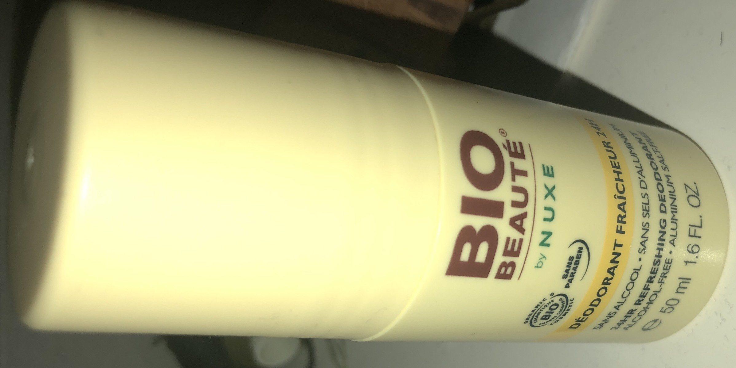 Bio Beauté By Nuxe SOINS CORPS Déodorant Fraicheur 24H - Ingredients - fr