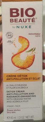 Crème détox anti-pollution et éclat - Bio Beauté - Produit - fr