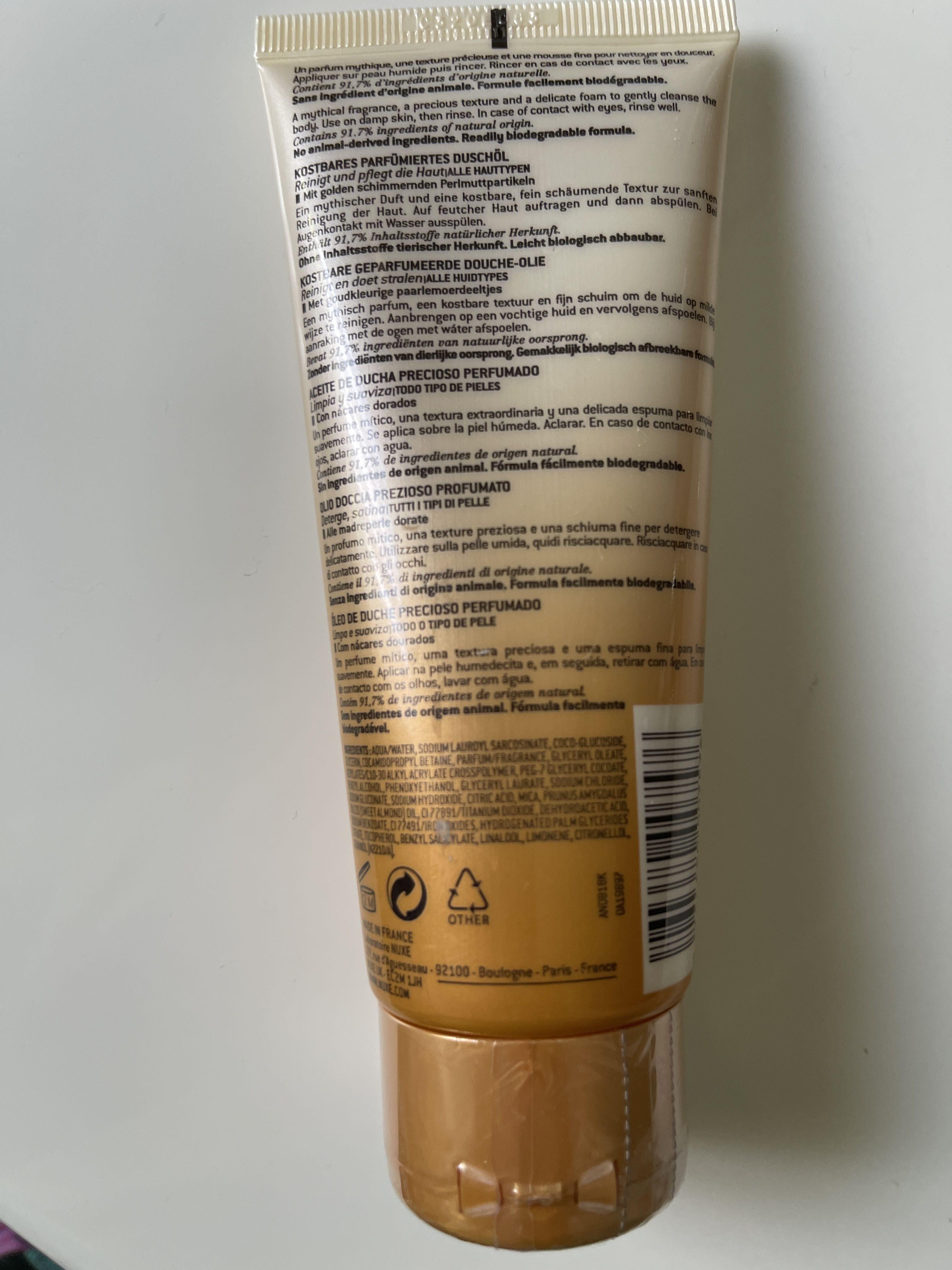 Prodigieux - huile de douche - Product - fr