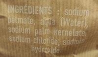 Savon de Marseille copeaux - Ingredients - fr