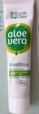 Dentifrice Aloe Vera - Product - fr