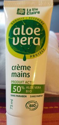 crème mains aloe vera - Product