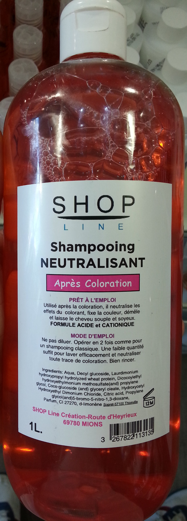 shampooing neutralisant aprs coloration produit - Shampooing Apres Coloration